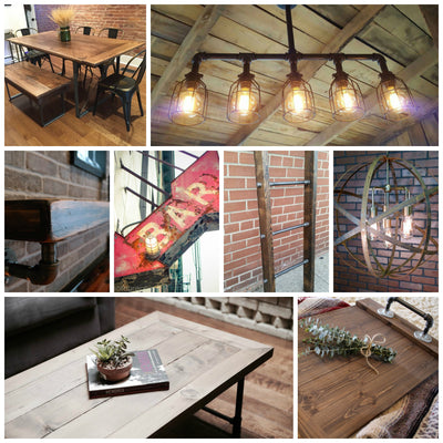 8 Must Haves for Rustic Industrial Junkies