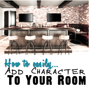 How to easily add character to your room