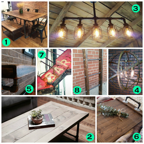* Must Haves for Rustic Industrial Junkies