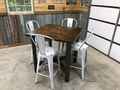 FOUR - PERSON PUB STYLE DINING SET