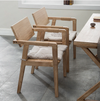 Natural Wood Contemporary Dining Chairs