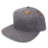 "Parlor 23 ""4 Pin Combo"" (Heather Wool) Snapback"