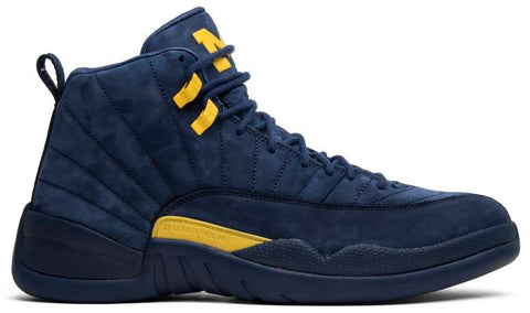 "Jordan 12 ""Michigan"" 2018"