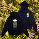 "Parlor 23 ""Baby Money and Skunky"" Zip Hoodie"