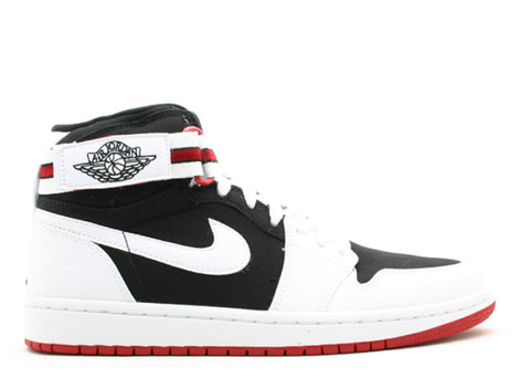 "Jordan 1 Strap ""White/Black Varsity-Red"" 2008"