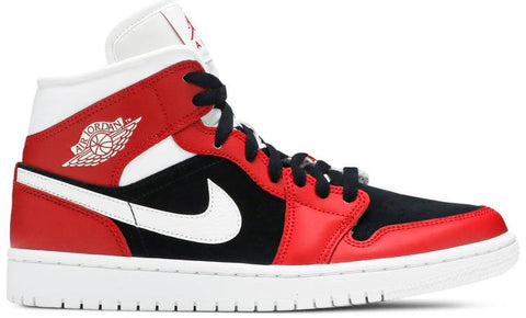 "Jordan 1 Mid ""Gym Red Black"" (W) 2020"