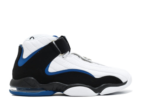 "Nike Air Penny IV ""White Black/Anthricite Blue"" 2015"