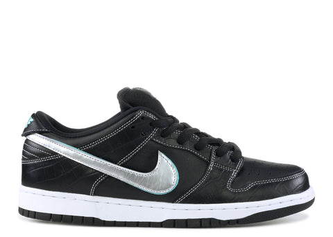 "Nike SB Dunk Low ""Diamond Black"" 2018"