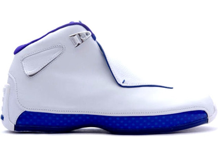 "Jordan 18  ""White/Royal""  2003"