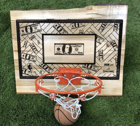 "MSN Lazer ""Cash Court"" Mini Hoop"