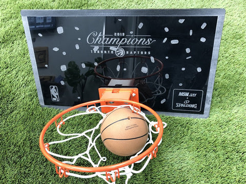 "MSN Lazer ""Champs With Confetti"" Mini Hoop"