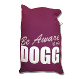 "Parlor 23 ""Be Aware"" Dog Bed (Small)"