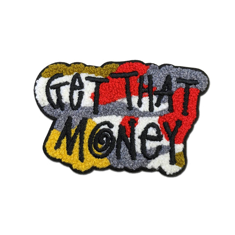 "Parlor 23 ""Get That Money Camo"" Chenille Patch"