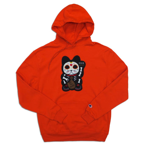 "Parlor 23 X Champion ""Skeleton Get That Money"" Hoodie"