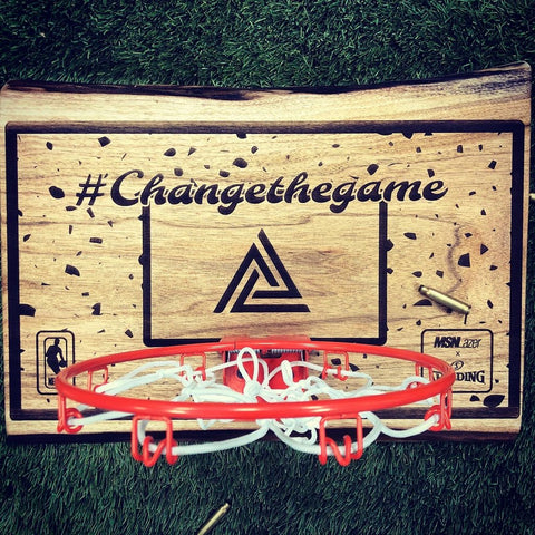 "MSN Lazer ""Change The Game"" Mini Hoop"