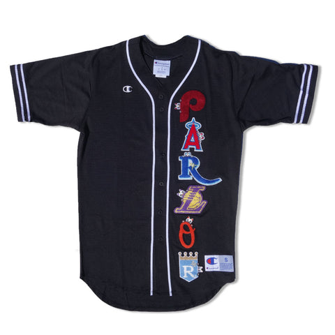 "Parlor 23 X Champion Chenille ""Baseketball"" Slider Jersey"