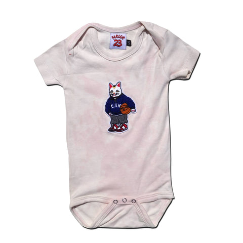 "Parlor 23 Dyed Chenille Infant ""PRLR Sport"" Onesie"
