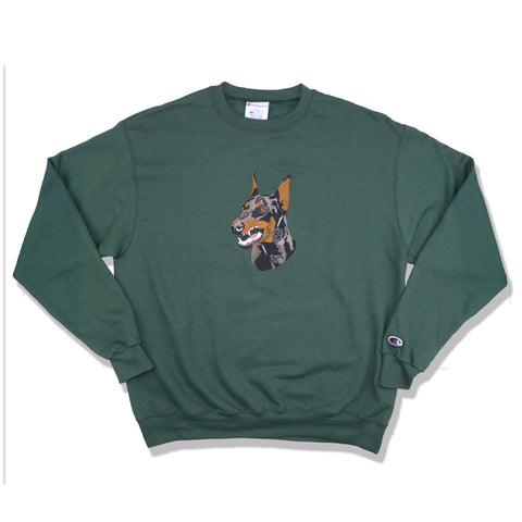 "Parlor 23 X Champion Embroidered ""Krueger"" Crew"