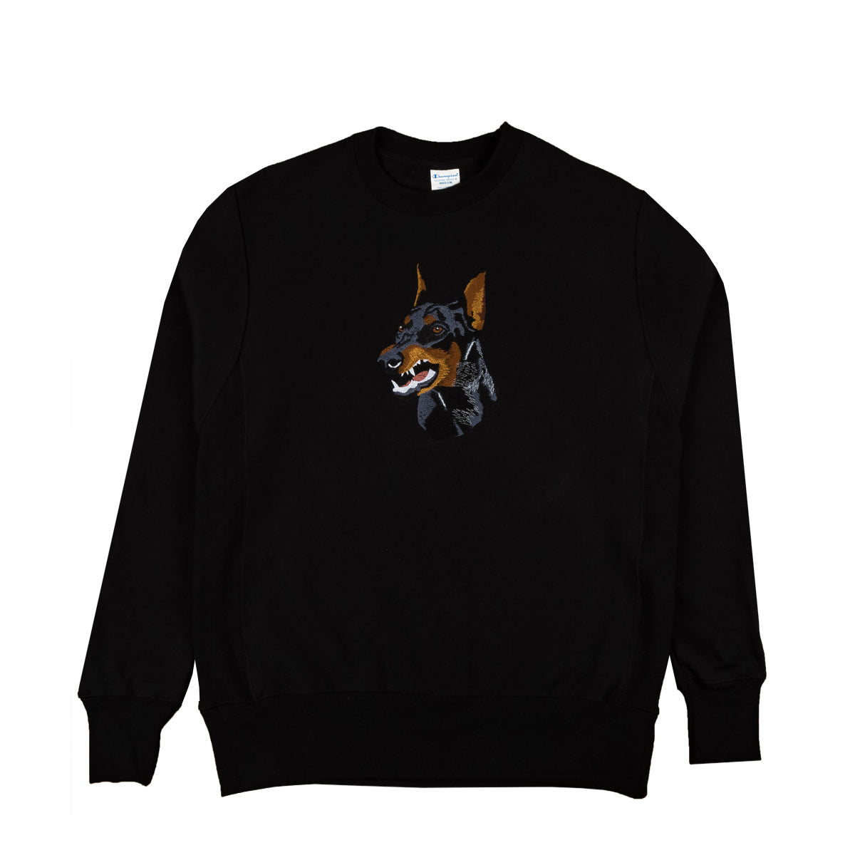 "Parlor 23 X Champion Embroidered ""Krueger"" Reverse Weave Crewneck"