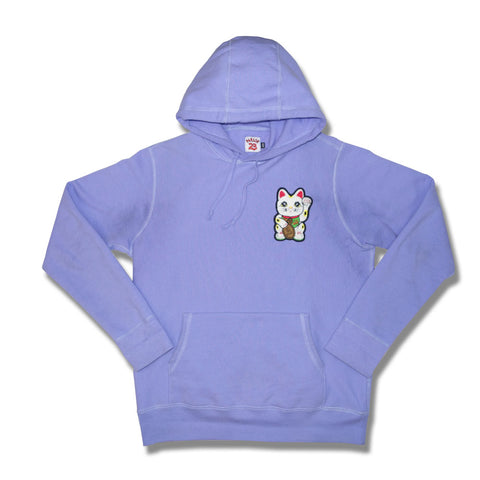 "Parlor 23 Chenille ""Get That Money"" (Lavendar) Heavyweight Hoodie"