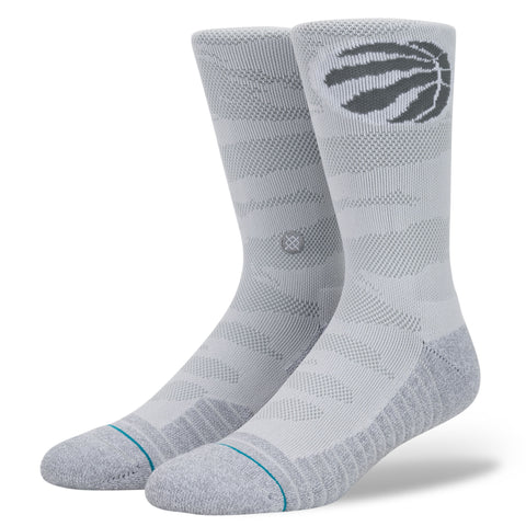 "Stance NBA ""Arena Snow Raptors"" (Grey)"