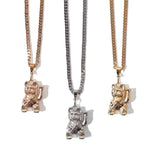 "Parlor 23 X Sweet Jesus ""Get That Money"" Pendant & Cuban Link Chain"
