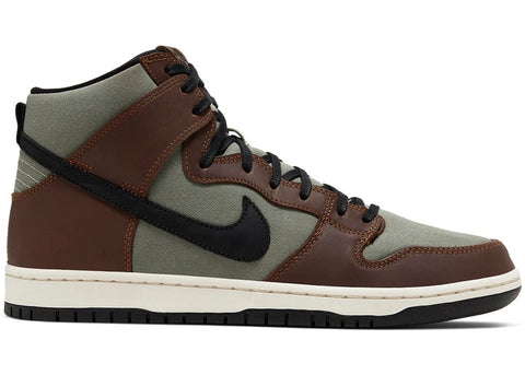 "Nike SB Dunk High ""Baroque Brownk"" 2020"