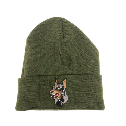 "Parlor 23 ""Custom Patch"" (Olive) Cuff Beanie"