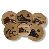 "Parlor 23 ""Dunk High"" Coaster Set"