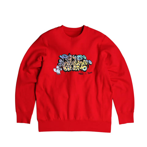 "Parlor 23 X Made in Canada ""Parlor Sneaker Club Irridescent"" Crewneck"