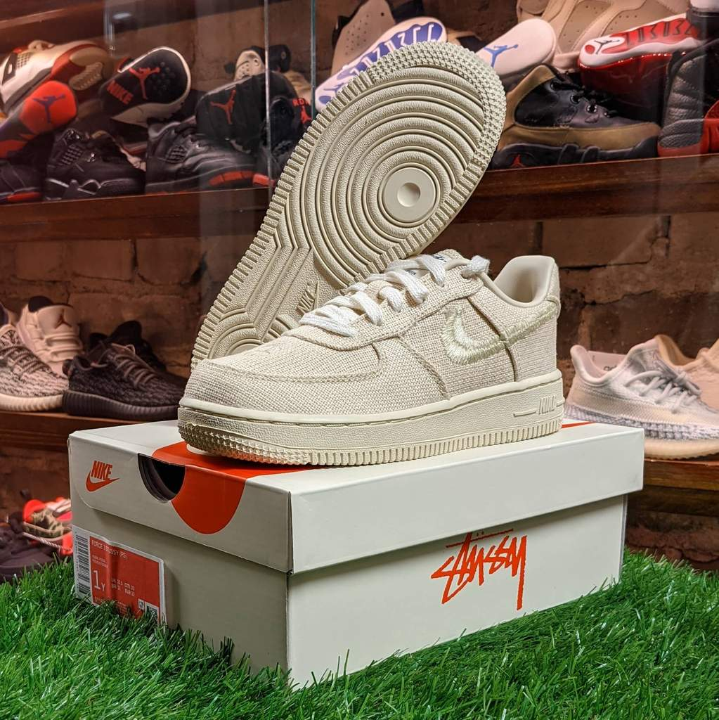 "Nike Air Force 1 Low ""Stussy Fossil"" (TD) 2020"