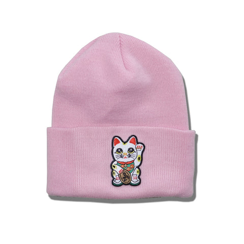 "Parlor 23 ""Money Cat"" Cuff Beanie"