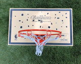 "MSN Lazer ""18K Gold Champs With Confetti"" Mini Hoop"