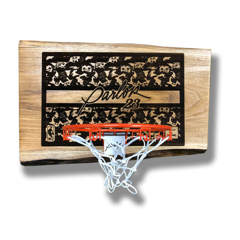 "Parlor 23 ""Get Money Camo"" Mini Hoop"