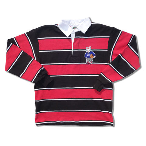 "Parlor 23 x Barbarian ""PRLR SPORT"" Rugby Striped"