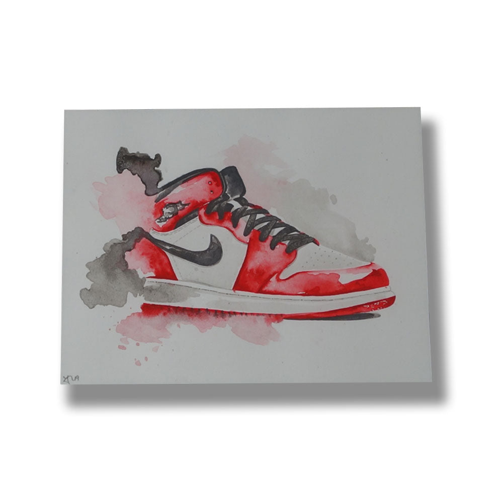 "Red9ine Print ""Jordan 1 Chicago"""