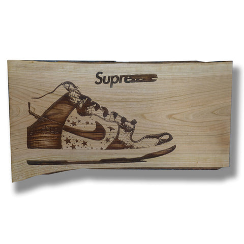"Parlor 23 ""Supreme Dunk"" Display Board"