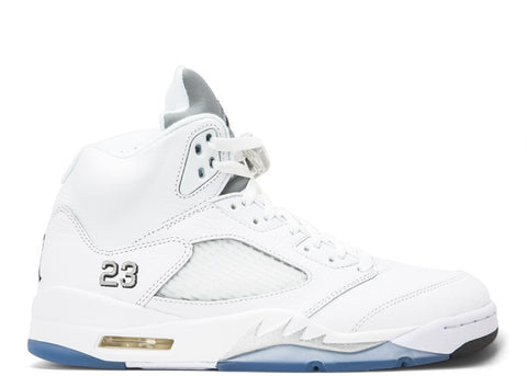 "Jordan 5 ""White Metallic"" 2015"