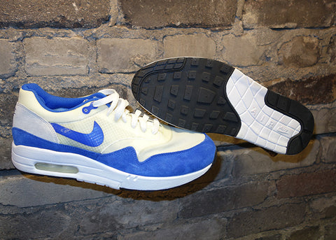 "SAMPLE: Nike Air Max 1 ND ""White/Royal"" 2008"