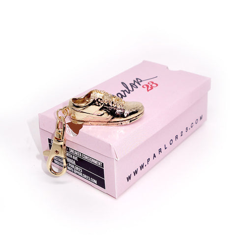 "Parlor 23 ""Dunk Low"" Belt Snap Clip Keychain"