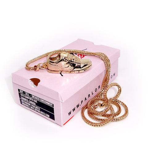 "Parlor 23 ""Dunk Low"" Pendant & Box Link Chain"