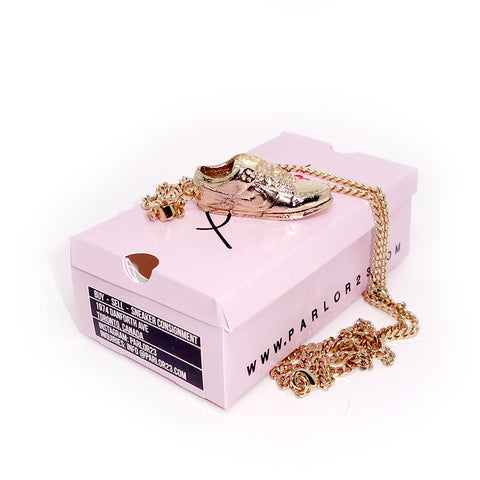 "Parlor 23 ""Dunk Low"" Pendant & Cuban Link Chain"