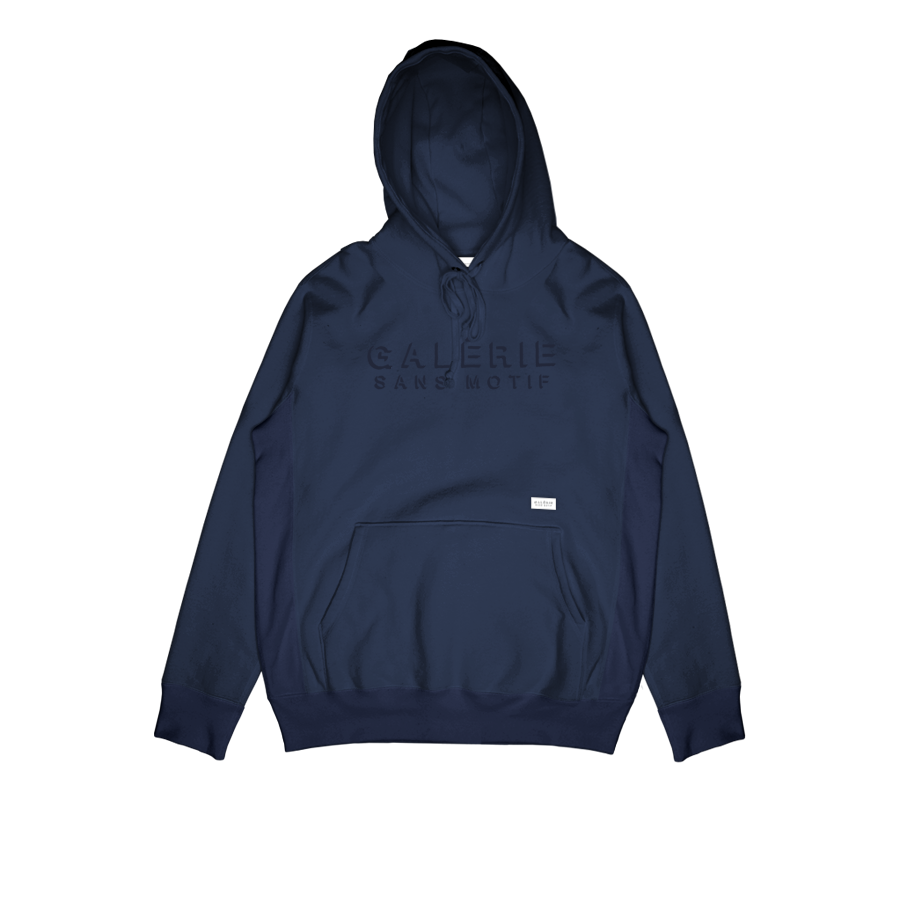 gsm shade pullover hoodie navy