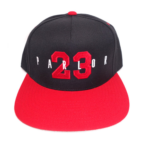 "Parlor 23 ""Jersey"" (Red Two-Tone) Snapback"