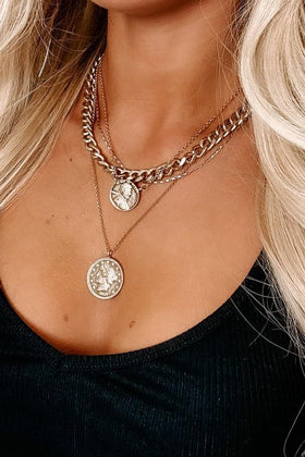 antique style gold coin jewelry