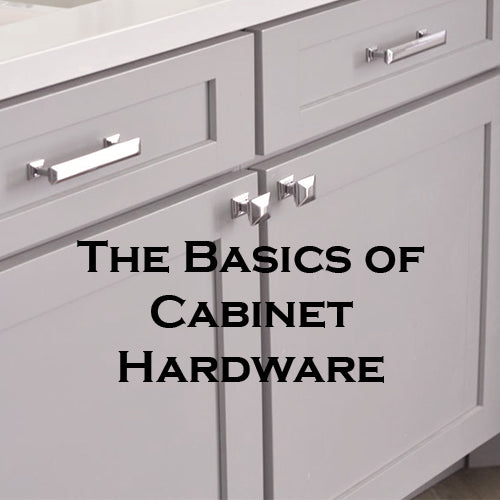 The Basics of Cabinet Hardware