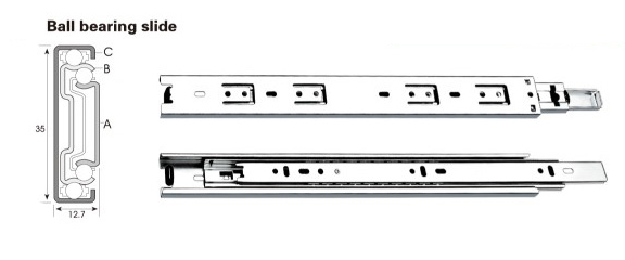 3500 Series Drawer Slide