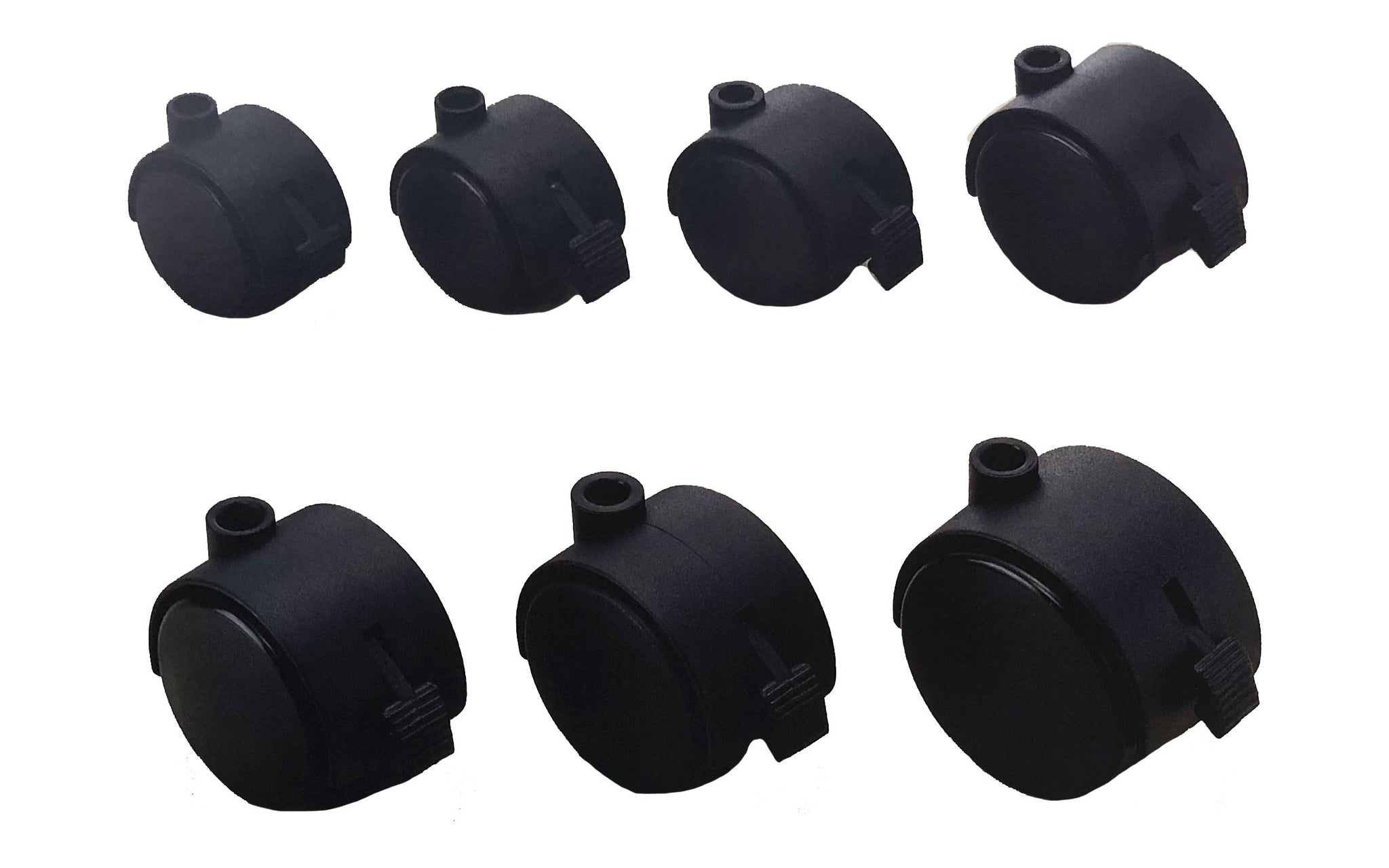 Nylon Twin Wheel Castors with Brake TWB Series