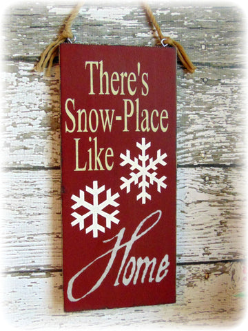 Country Rustic Handmade Wooden Christmas Decor, Front Door Sign