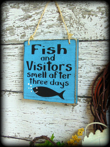 Funny Fishing Sign, Unique Gift For Dad, Rustic Camp Decor